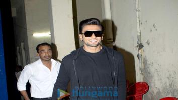 Ranveer Singh spotted at Filmistan Studio