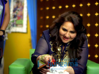 Reena Roy celebrates her comeback on the sets of her chat show
