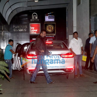 Sanjay Dutt spotted with his new car