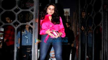 Sara Ali Khan spotted at The Korner House
