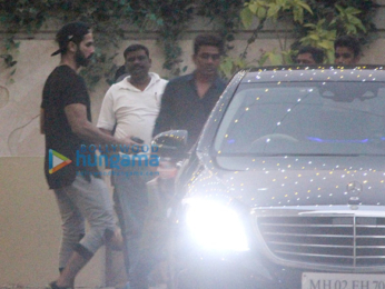 Shahid Kapoor spotted outside the gym