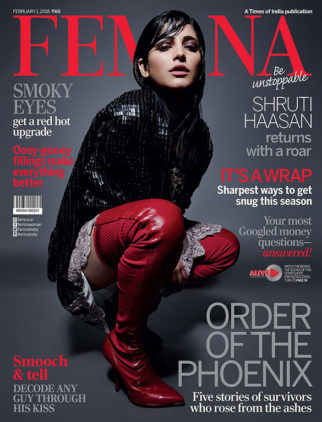 Shruti Haasan On The Cover Of Femina