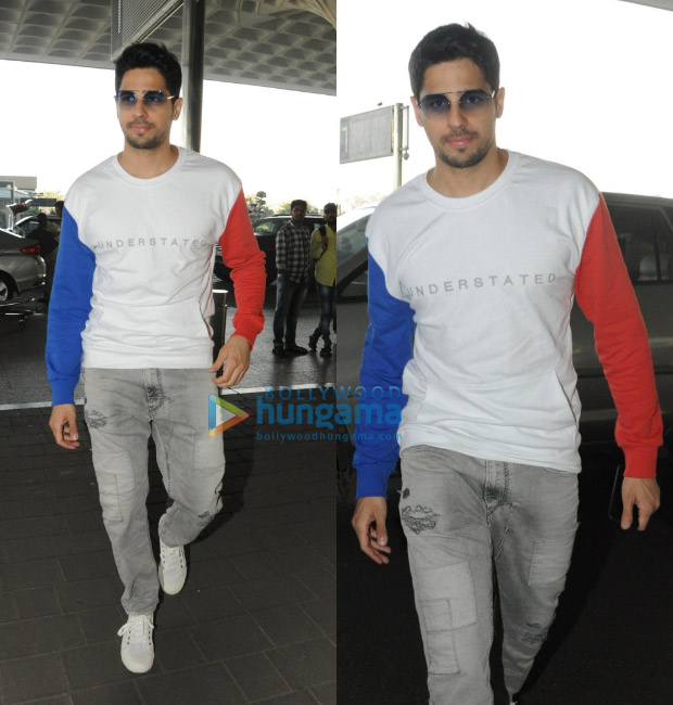 Sidharth Malhotra airport style