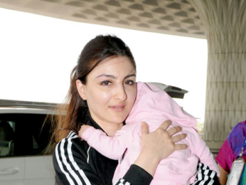 Soha Ali Khan, Jackie Shroff and others snapped at the airport