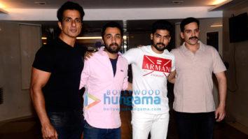 Sonu Sood hosts the bash for 'Paltan' team