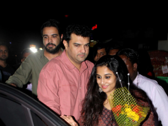 Vidya Balan and Siddharth Roy Kapur snapped at Sequel Bistro & Juice Bar