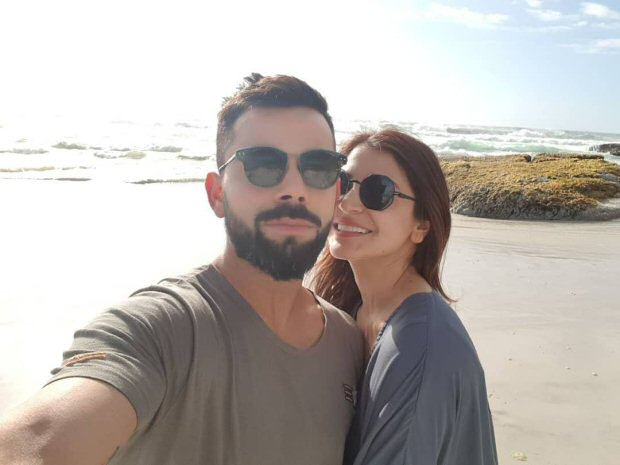 WOW! Virat Kohli posts beach selfie with Anushka Sharma from Cape Town