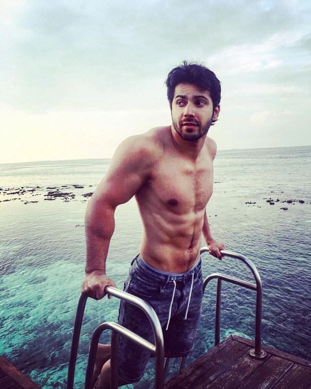 We can't get over Varun Dhawan's well-toned body in this picture a