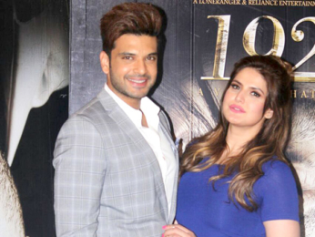 Zareen Khan and Karan Kundra spotted at '1921' promotions