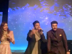 WATCH: Arjun Kapoor danced his heart out with Karisma Kapoor, Guru Randhawa, Karan Johar, Badshah at Mohit Marwah- Antara Motiwala's wedding
