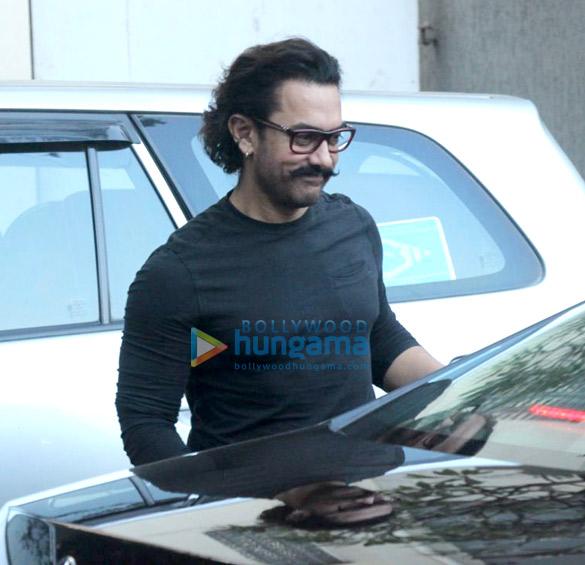 Aamir Khan snapped in Bandra