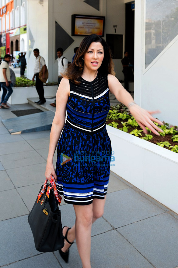 Aditi Govitrikar snapped in Lower Parel