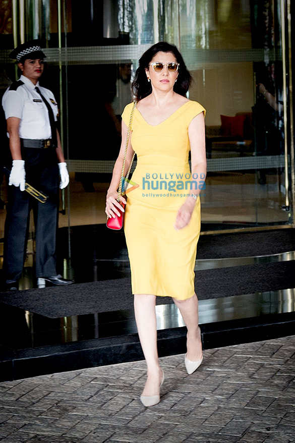 Aditi Gowitrikar snapped at The Oberoi