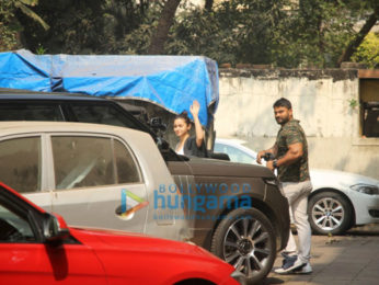 Alia Bhatt spotted at a gym in Bandra