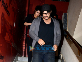 Arjun Kapoor and Anshula Kapoor snapped at PVR Juhu