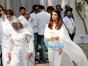 Celebs snapped attending Sridevi's condolence meeting at Celebrations Sports Club