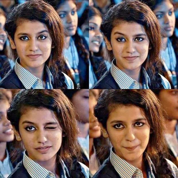 Debutante Priya Prakash Varrier wink clip makes Internet goes crazy on memes