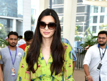 Diana Penty snapped attending the Lakme Fashion Week 2018