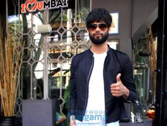 Dimple Kapadia and Karan Kapadia snapped in Mumbai