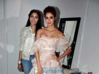 Disha Patani snapped at the Lakme Fashion Week 2018