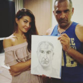 Jacqueline Fernandez is a master at sketching and this is the proof!