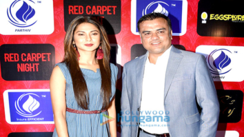 Jennifer Winget snapped with Rakesh Rathi