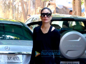 Kareena Kapoor Khan spotted outside the gym in Bandra