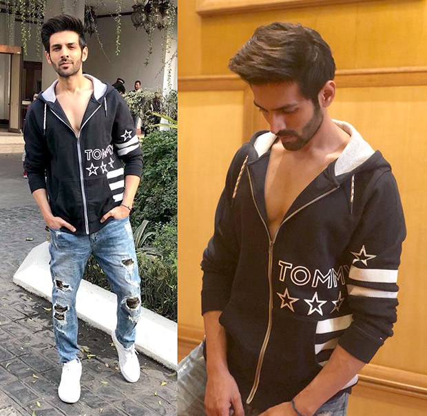 Kartik Aaryan gets his swag on point with smart casuals for Sonu Ke Titu Ki Sweety promotions
