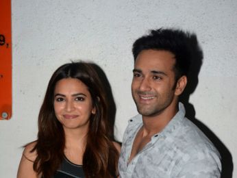 Kriti Kharbanda snapped with Pulkit Samrat after her dance practice