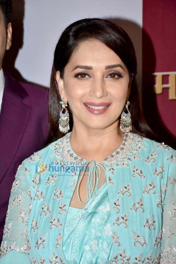 Madhuri Dixit unveils autobiography of Marathi industrialist Dr Dhananjay Datar