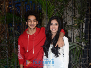 Malavika Mohanan and Ishaan Khattar snapped in Mumbai