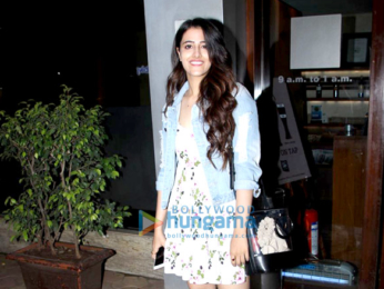 Nupur Sanon snapped at Salt Water Cafe, Bandra