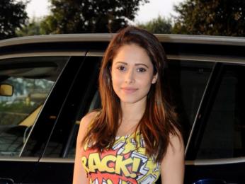 Kartik Aaryan and Nushrat Bharucha snapped leaving for Jaipur to promote 'Sonu Ke Titu Ki Sweety'