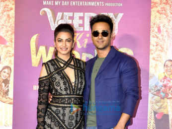 Pulkit Samrat, Kriti Kharbanda and others snapped at Veere Ki Wedding trailer launch