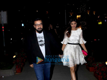 Raj Kundra, Shilpa Shetty and Shamita Shetty spotted at Yauatcha, BKC
