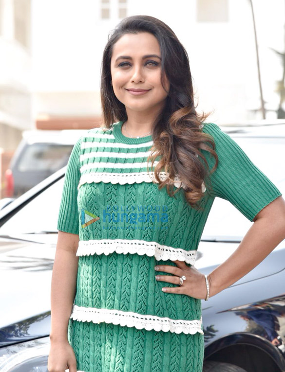 Rani Mukerji snapped at Maneckji Cooper School