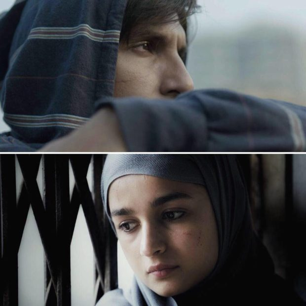 Ranveer Singh- Alia Bhatt look pretty intense in the first look of Gully Boy; the film to arrive on Valentine's Day 2019