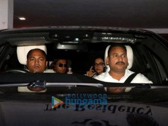 Ranveer Singh and Deepika Padukone snapped at Karan Johar's house