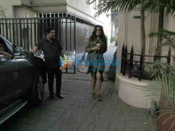 Richa Chadda spotted in Juhu