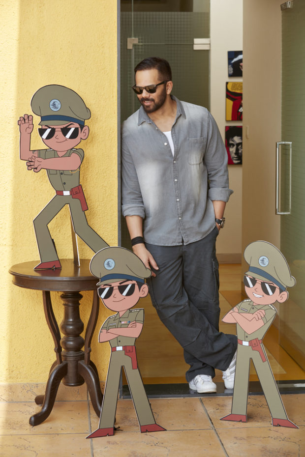 Rohit Shetty to venture into animation series with Little Singham