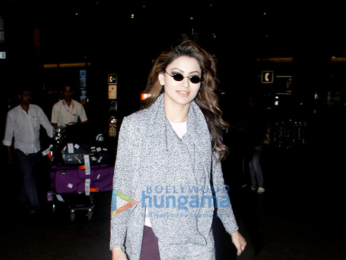 Salman Khan and Urvashi Rautela snapped at the airport