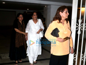 Salman Khan's mother Salma Khan spotted at Bandra