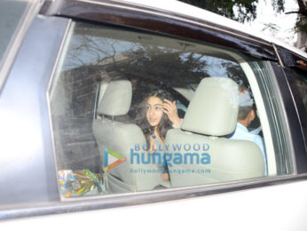 Sara Ali Khan spotted at The Kitchen Garden in Bandra