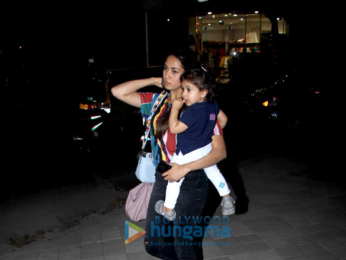 Shahid Kapoor's wife Mira Rajput snapped at their daughter Misha's school