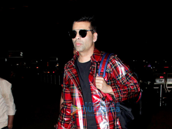 Sidharth Malhotra, Rakul Preet, Karan Johar and Bhumi Pednekar snapped at the airport