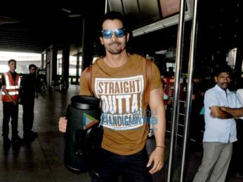 Sidharth Malhotra, Rakul Preet Singh, Karan Johar and others snapped at the airport