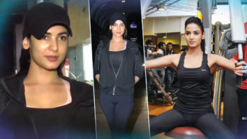Sonal Chauhan Spotted At GYM For Workout