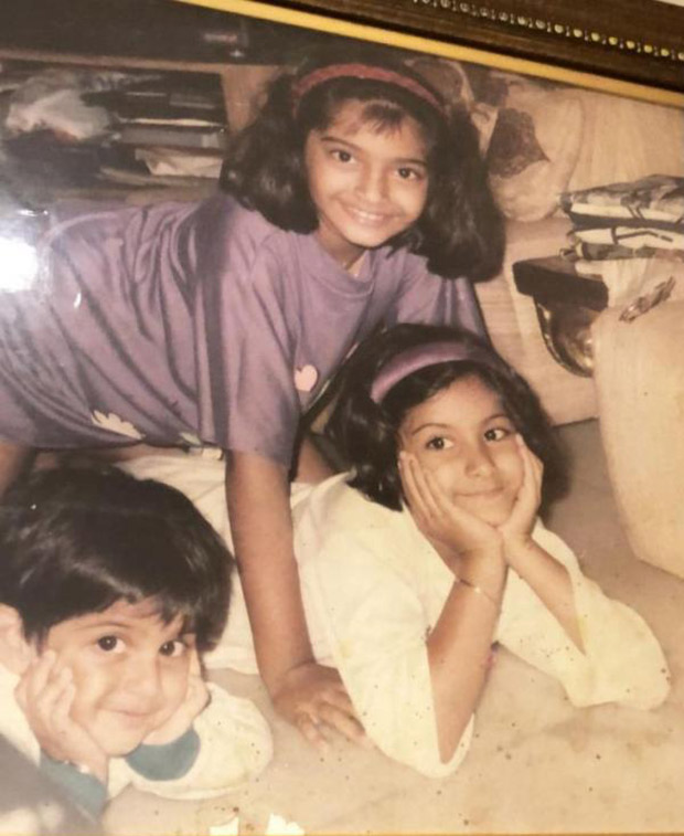 Sonam Kapoor's this childhood photo will make you marvel at her transformation