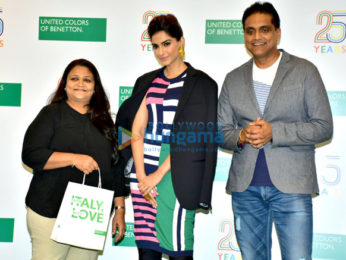 Sonam Kapoor snapped at the Benetton store