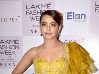 Surveen Chawla and others snapped attending the Lakme Fashion Week 2018